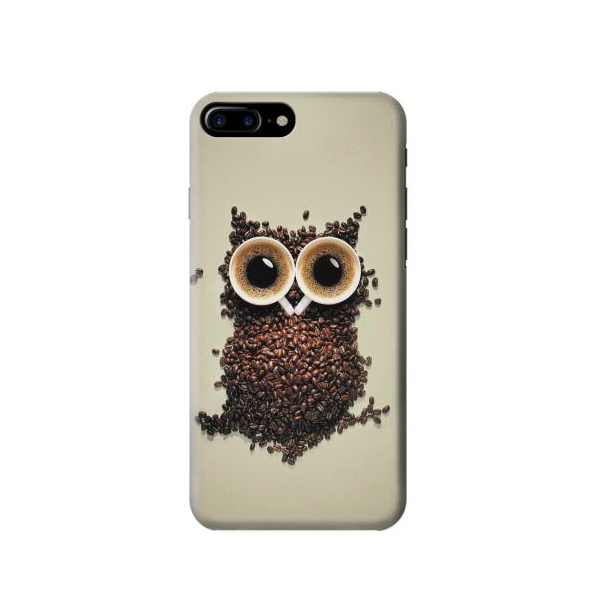 Coffee Owl Phone Case Cover For Iphone 7 Plus
