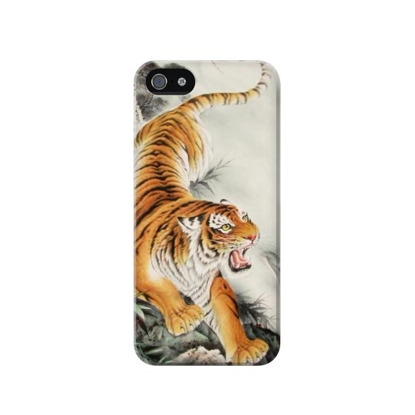 Chinese Tiger Tattoo Painting Case