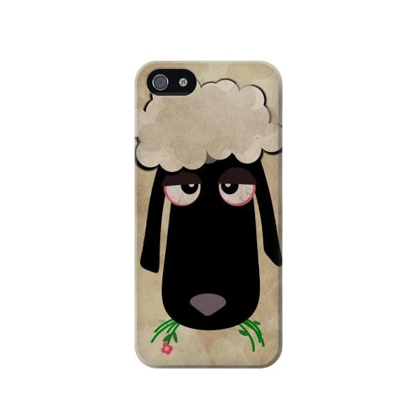 Cute Cartoon Unsleep Black Sheep Case