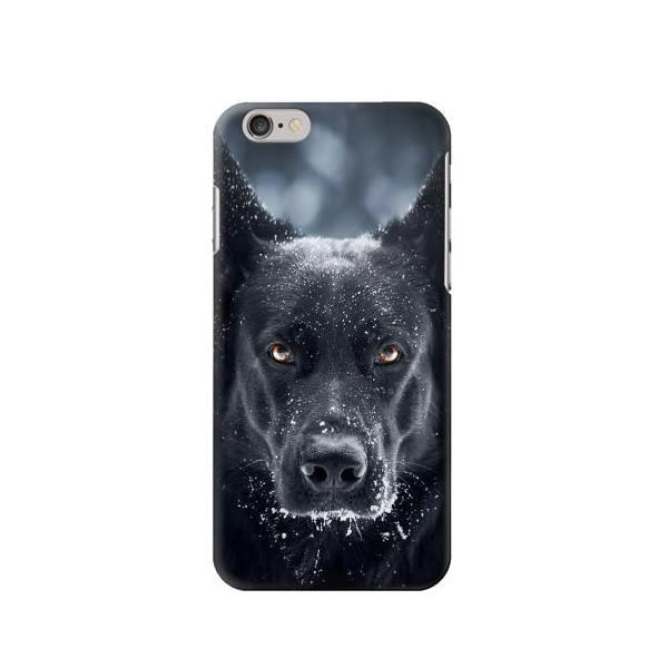 German Shepherd Black Dog Iphone 6 Case Lower Prices