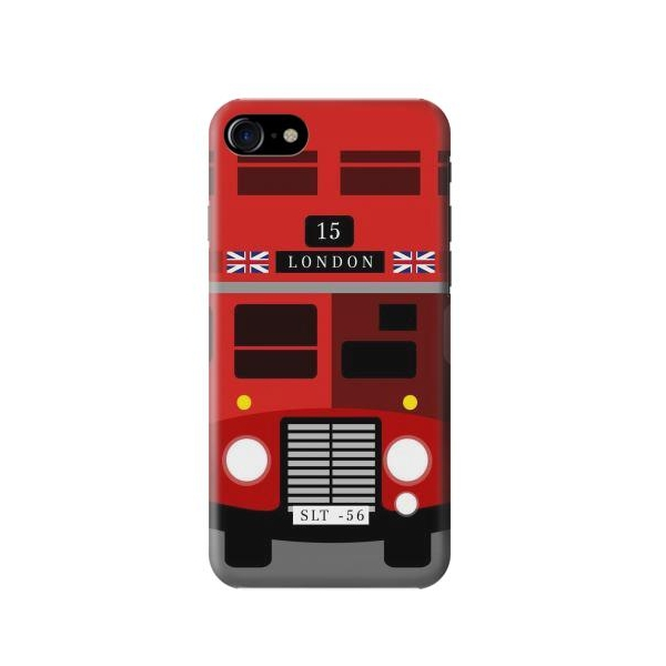 England British Double Decker Bus Minimalist Case