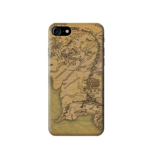 The Lord Of The Rings Middle Earth Map Case