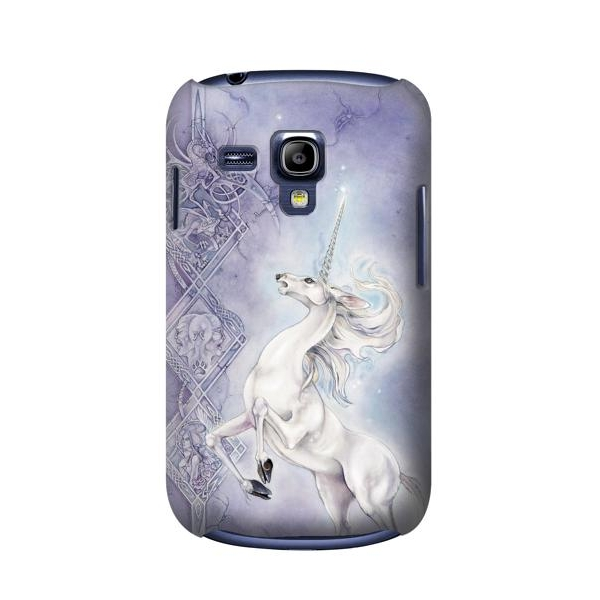 pretty nice aa968 43f1c White Horse Unicorn Galaxy S3mini Case New