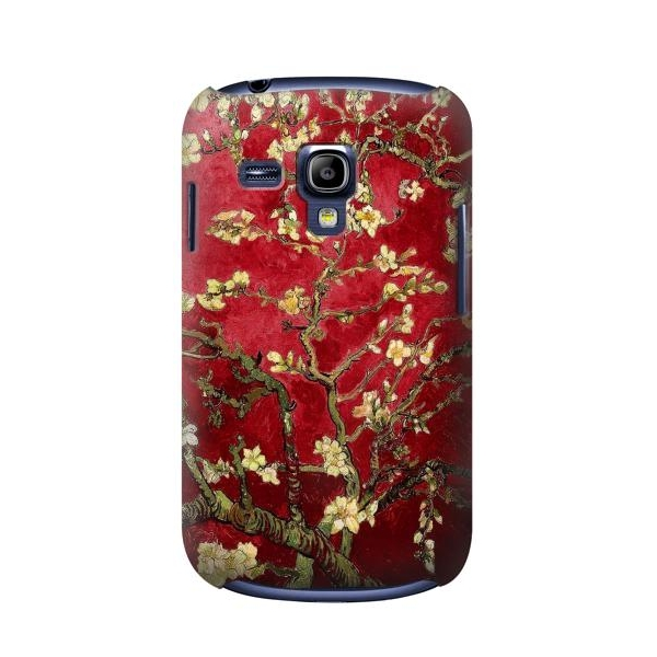 Red Blossoming Almond Tree Van Gogh Case