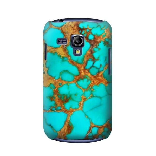 Aqua Copper Turquoise Gems Case