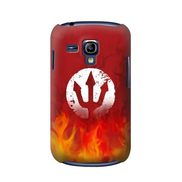 Fire Red Devil Symbol Samsung Galaxy S Iii Mini Case New S3m Limited