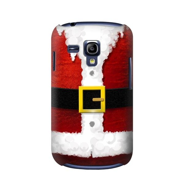 Christmas Santa Red Suit Phone Case Cover for Samsung Galaxy S III Mini