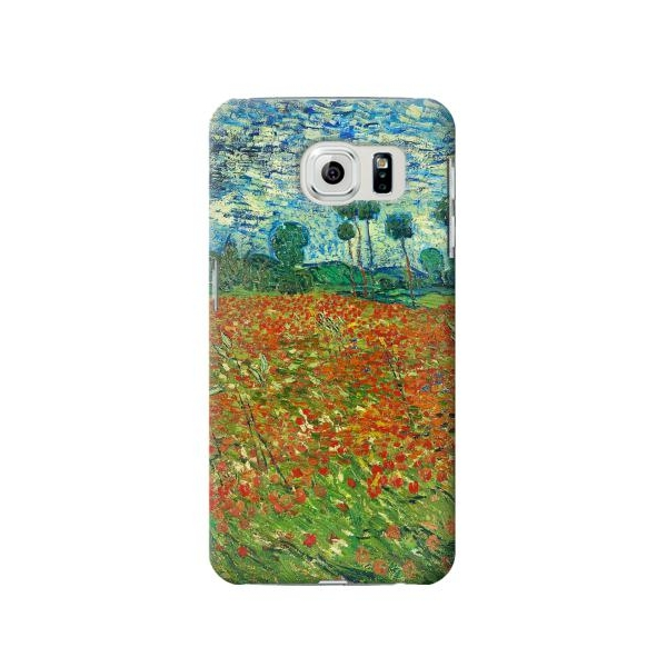 Field Of Poppies Vincent Van Gogh Phone Case Cover for Samsung Galaxy S6 edge