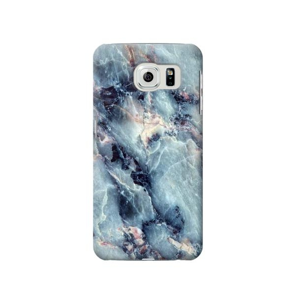 Blue Marble Texture Samsung Galaxy S6 Edge Case Lower