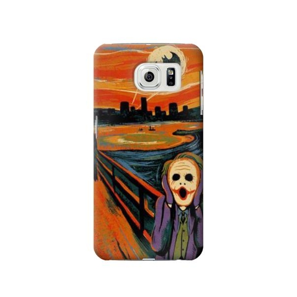 Scream Joker Batman Phone Case Cover for Samsung Galaxy S7 edge