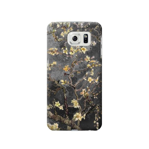 Black Blossoming Almond Tree Van Gogh Case