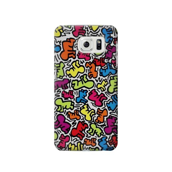 Keith Haring Baby Pattern Case