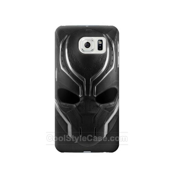 new concept 7fc1d e9edb Black Panther Mask Galaxy S7 edge Case Lower Prices