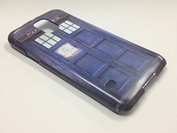 Photo Doctor Who Tardis Samsung Galaxy S5 Case Front